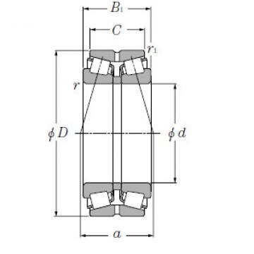 Bearing LM247748D/LM247710A+A